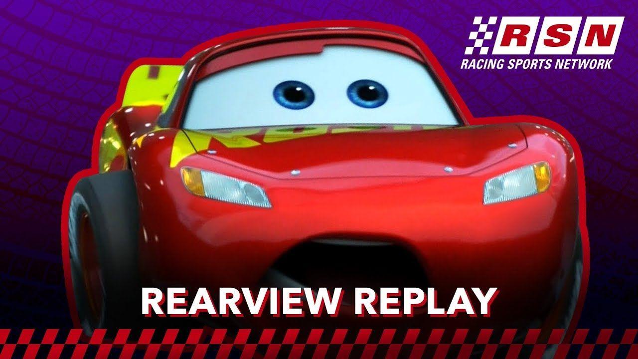 Rearview Replay Lightning Mcqueen S Simulator Miss Racing Sports Netw Disney Pixar Cars Pixar Cars Lightning Mcqueen
