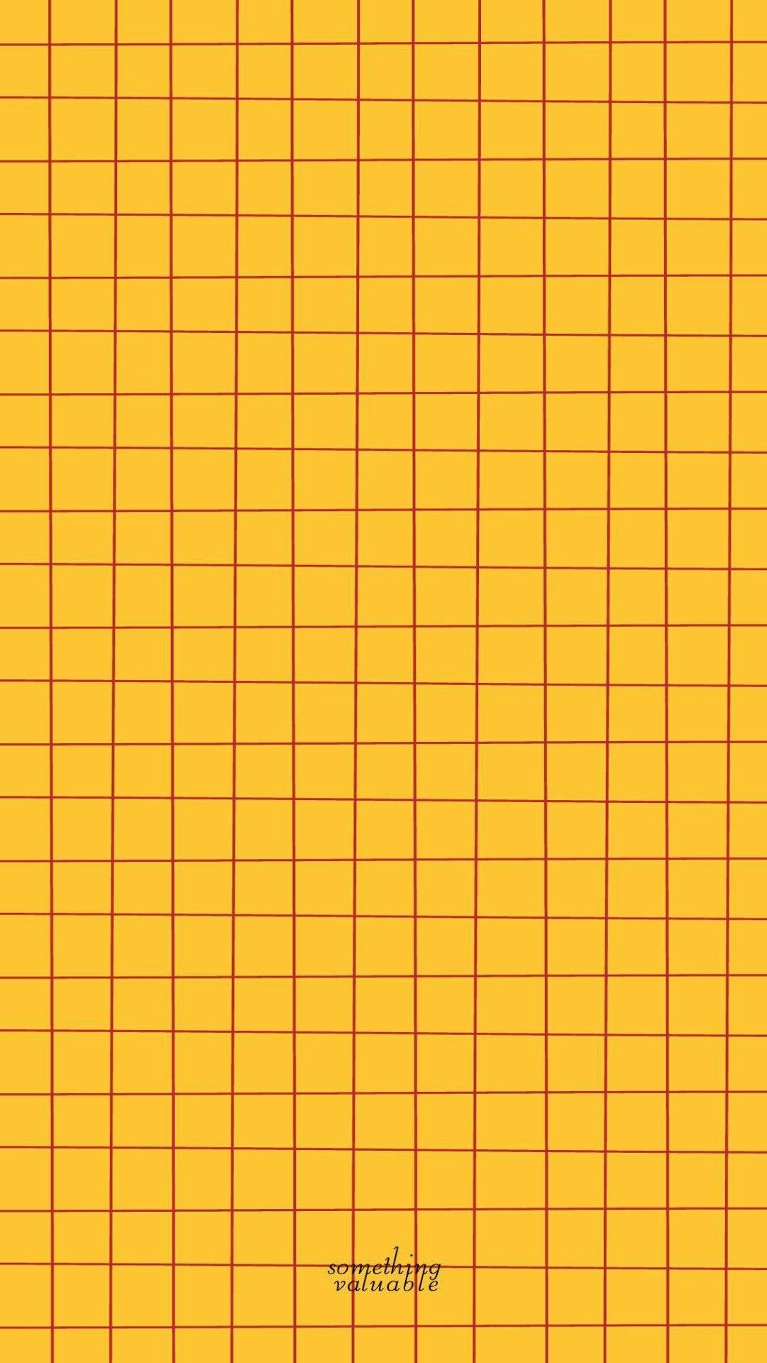 Yellow Background Kertas Dinding Wallpaper Iphone Papan Warna