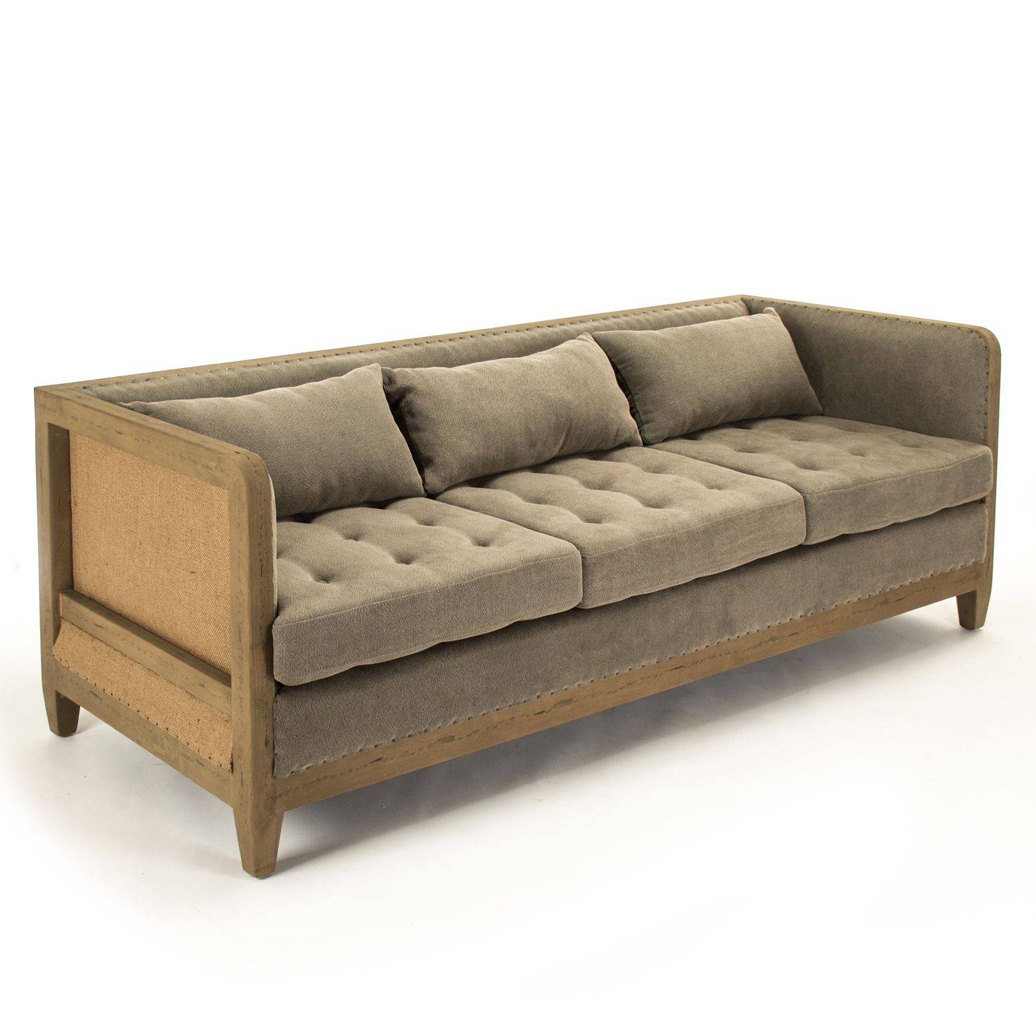 The Vert Sofa Offers Rustic, Vintage-inspired