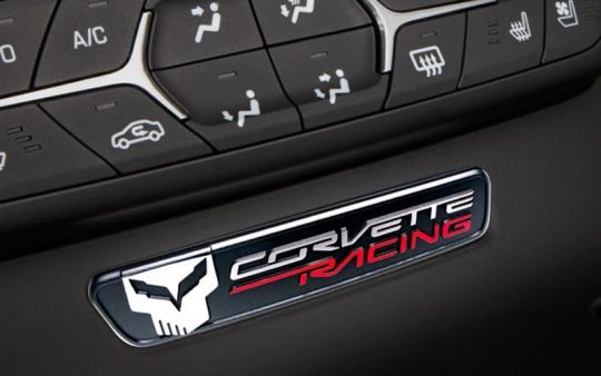 Interior Trim Badge With Jake Logo For C7 Corvette Stingray