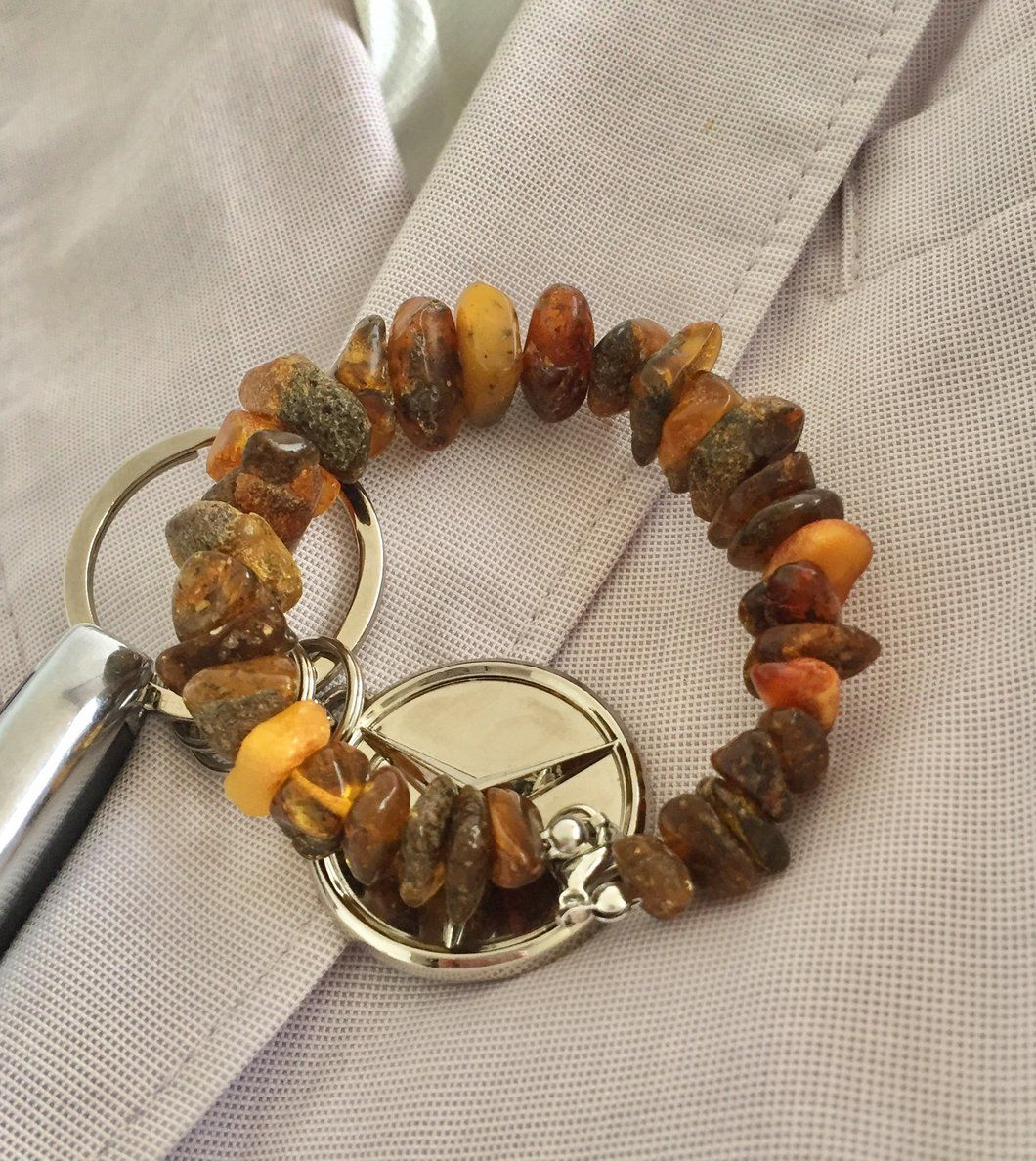 Baltic Amber Natural Bracelet, Unisex
