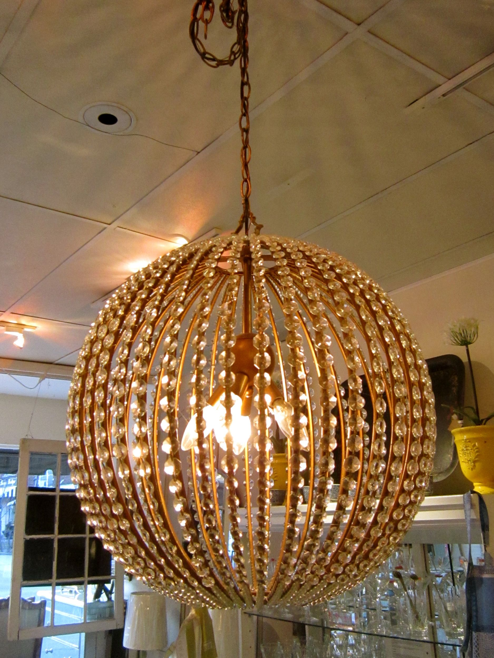 Stunning chandelier available in three sizes bright ideas