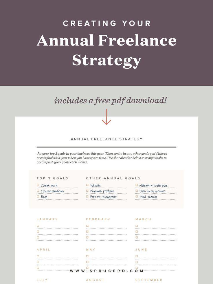 Yearlong freelance strategy Freelance graphic design