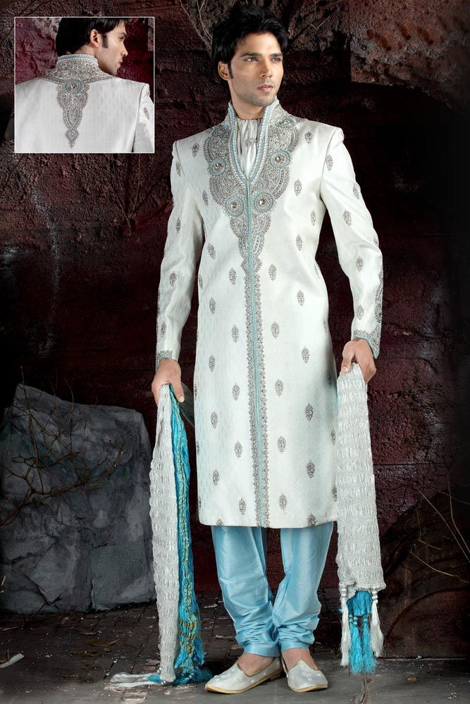 Pin by Asad Mokel on Desi Clothing | Pinterest | Sherwani and Churidar