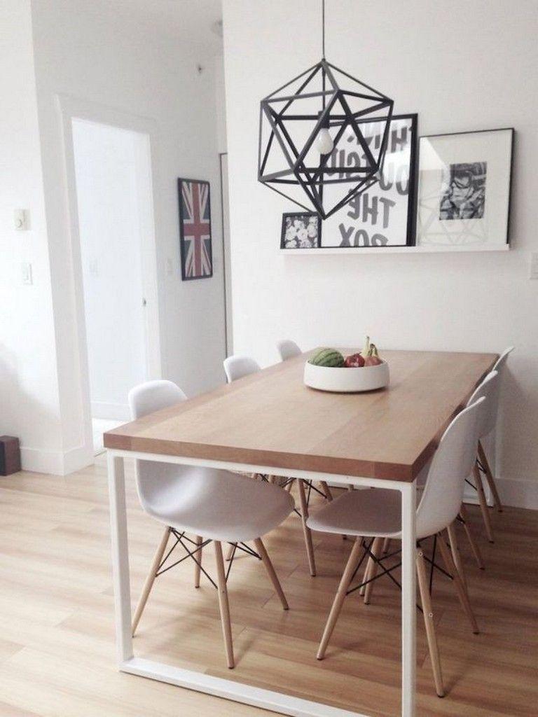 125 Best Small And Clean First Apartment Dining Room Ideas Decorating And Makeover Diningroom Decoracao Sala De Jantar Decoracao Sala De Tv Decoracao De Casa