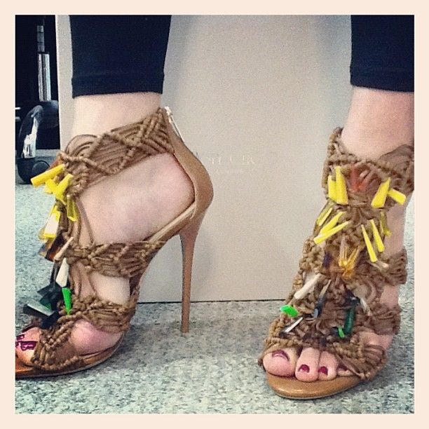 d7dd29d3ed5 Spotted at Jimmy Choo HQ today.. IRIS   shoeoftheday