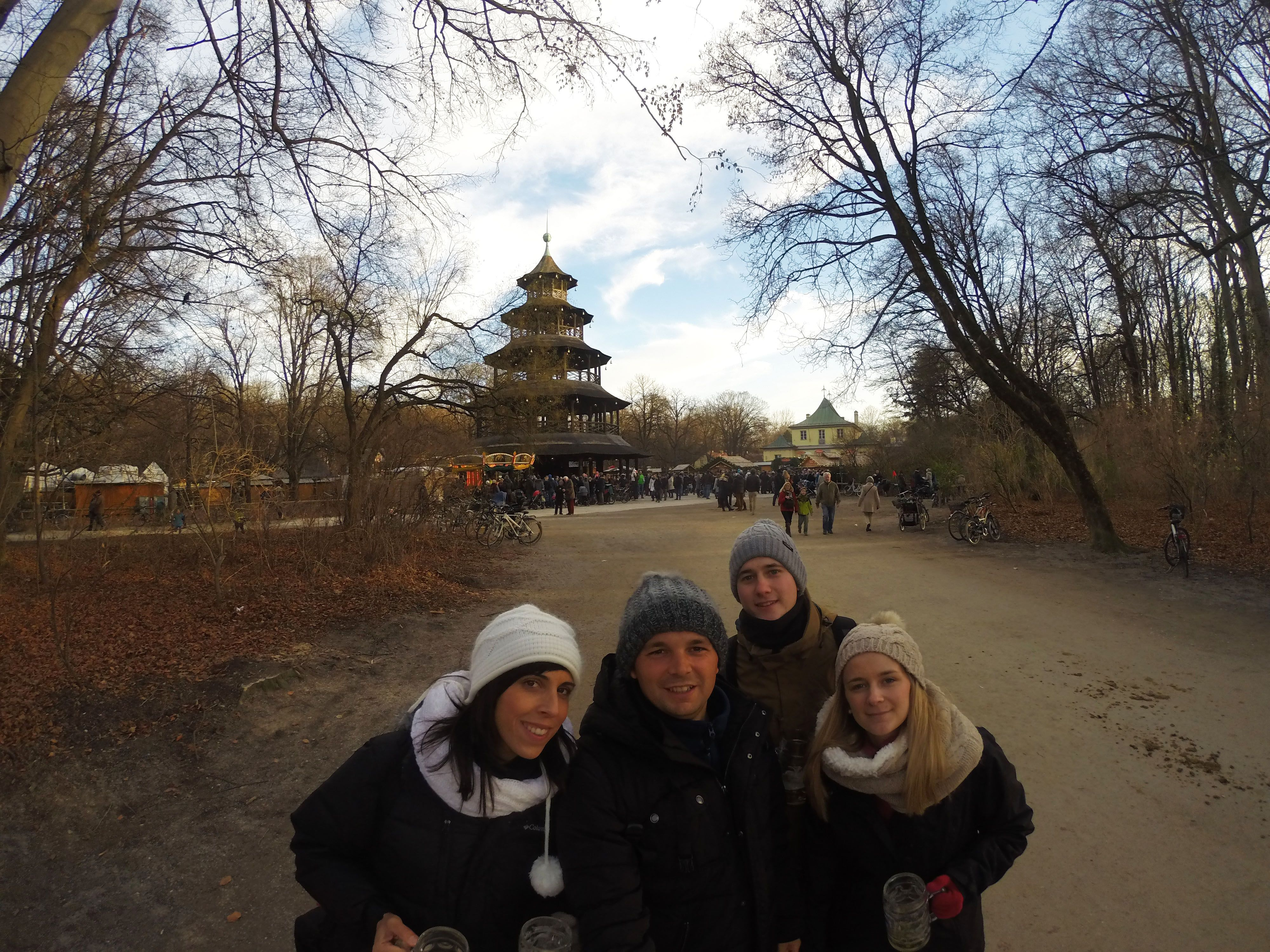 Chinesischer Turm, Mercado navideño