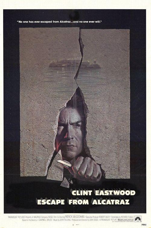 Escape From Alcatraz 1979 Don Siegel Alcatraz Clint