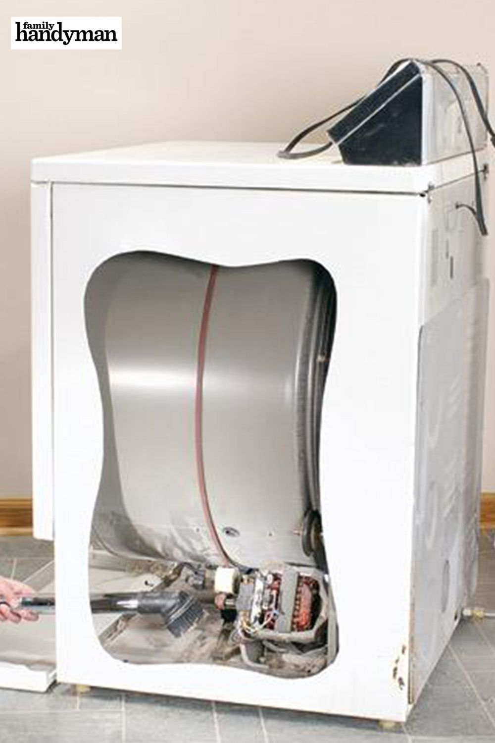 Remove Dryer Lint Diy home repair, House cleaning tips