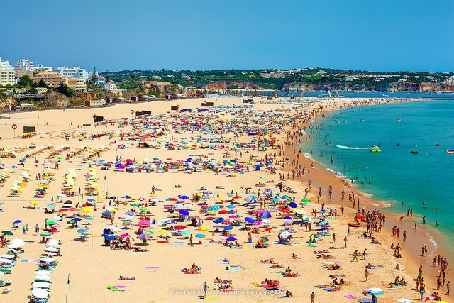 Portugal Summer at Algarve's Praia da Rocha beach by Fragga via Flickr