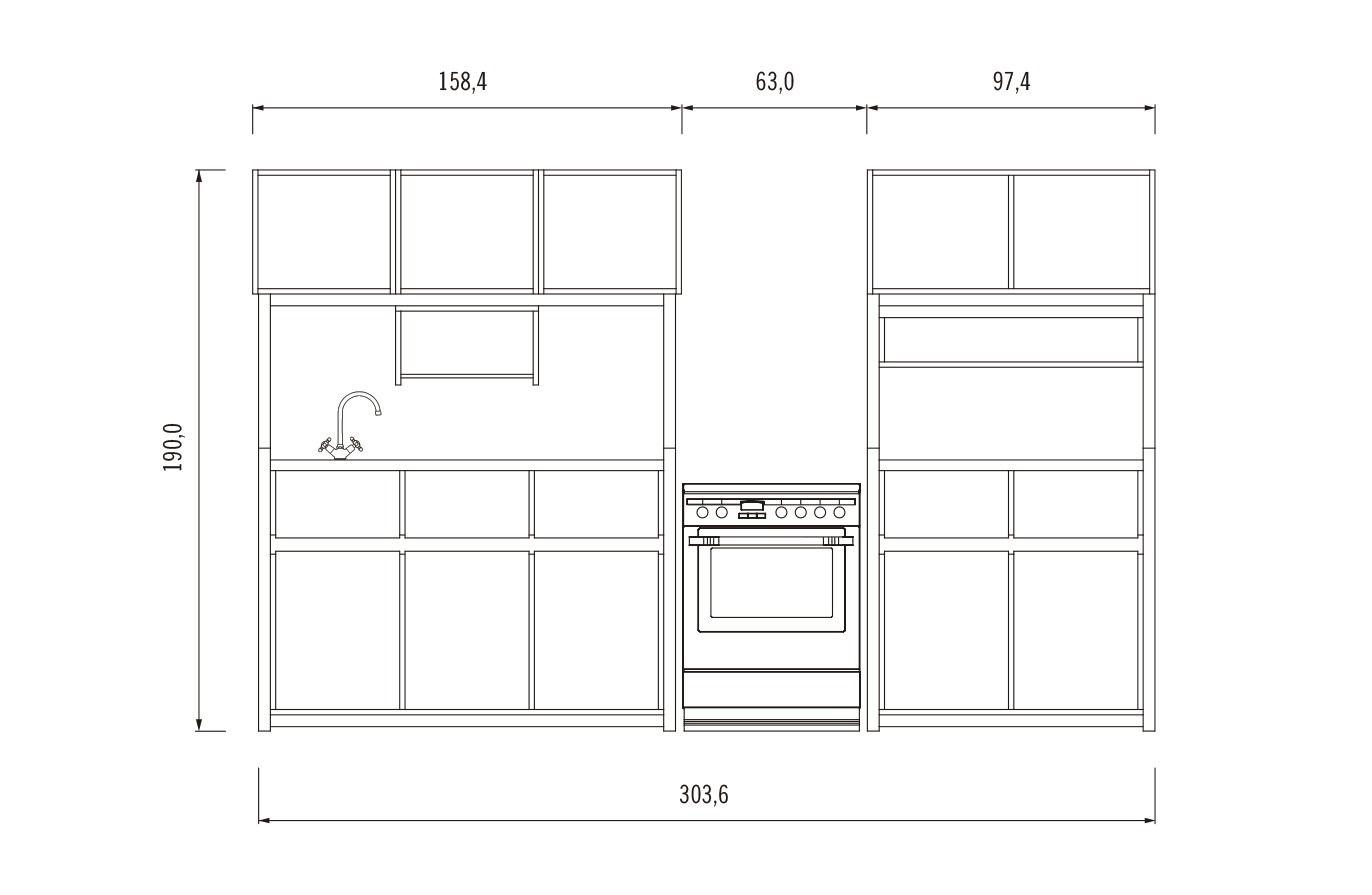 Galería de ¿Cómo construir una cocina modular? (Parte 1) - 4 ...