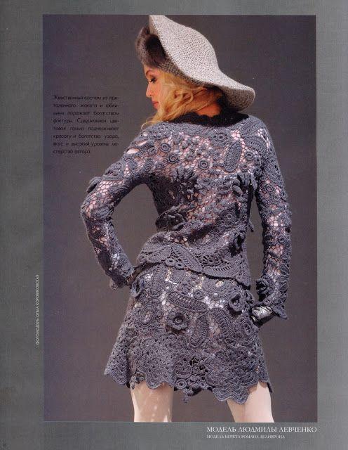 Uncinetto d'oro: Completo e cappello! for the hat