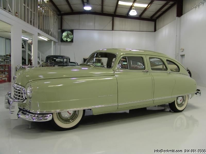Nash Ambassador Super Sedan With Folding Bed Cars