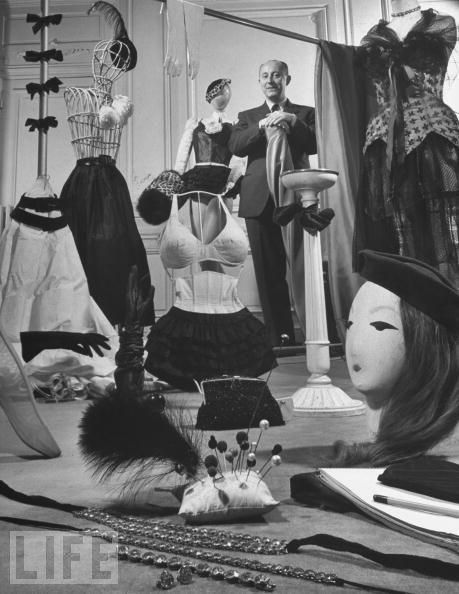 Christian Dior in His Workshop, 1947