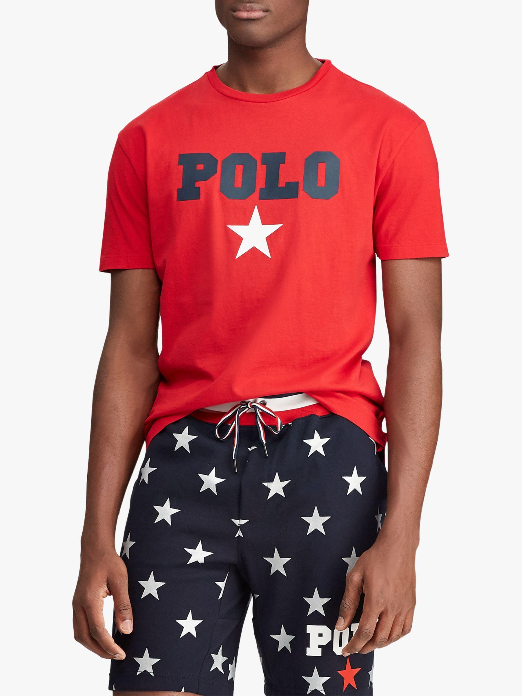 POLO Ralph Lauren Performance Mens Big Pony Shirt Big and Tall RL2000 RED//Navy