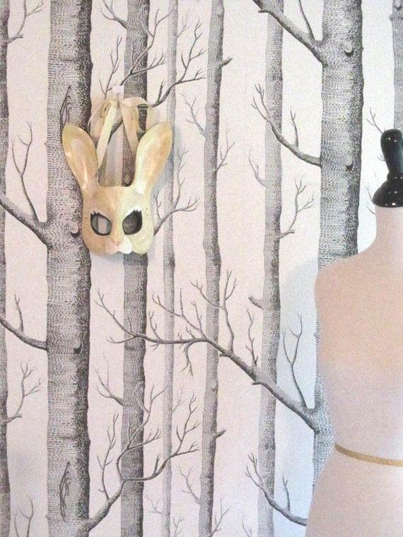 Rabbit Leather Mask Adult Size