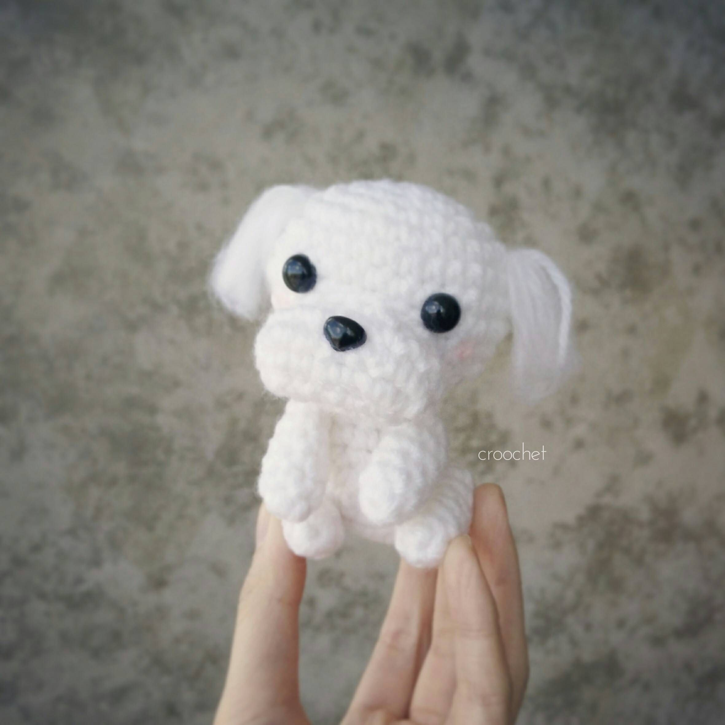Attempted To Crochet A Maltipoo But It Looks Like I Ve Ended Up