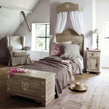 Chambre romantique et ciel de lit | Bedroom | Ciel de lit, Maison du ...