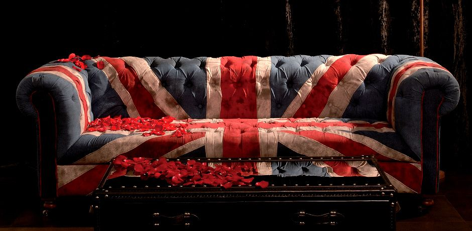 British Flag Sofa Cotton Carpet Thin Blanket British Flag