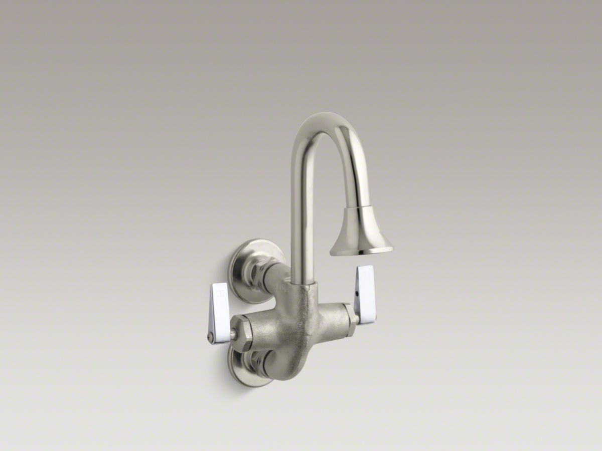 IN LAW FAUCET Cannock™ Double lever handle wash sink faucet | BROWN ...