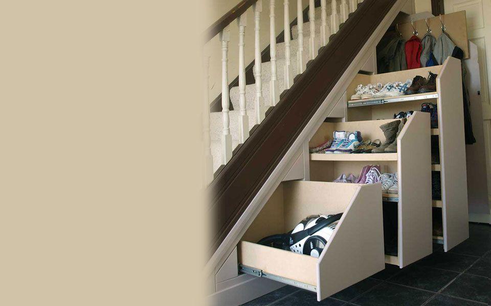 Under Stairs Storage Solutions Home Storage Cleverclosets Ie