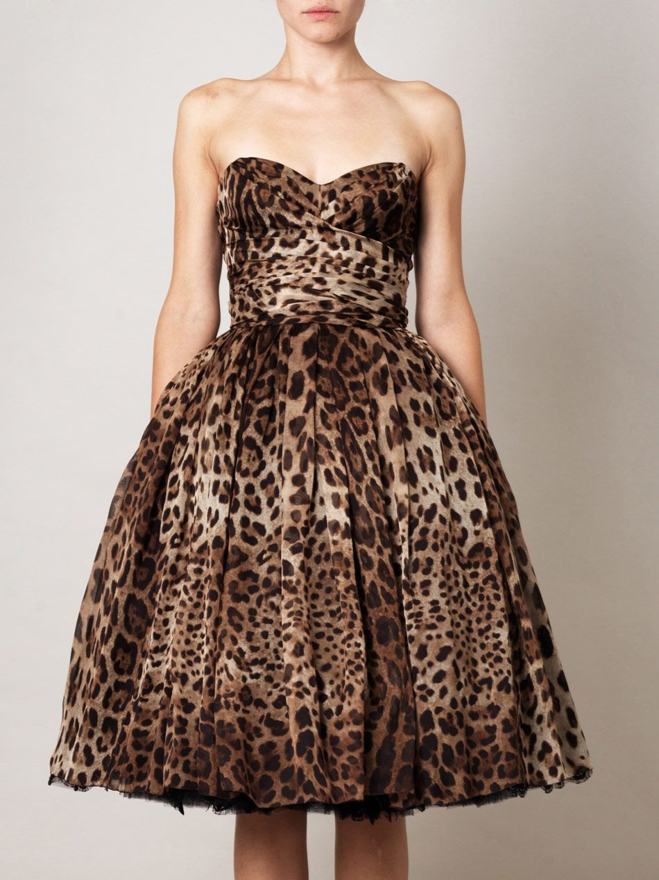 I am not a huge fan of animal print buti really like this animal print dresses ombrellifo Gallery