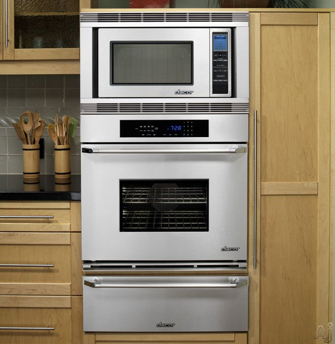 eye level oven microwave warming drawer