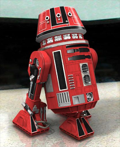 R5-K6 was an R5-series astromech droid that was built by Industrial Automaton