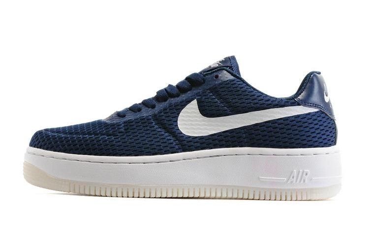 d066f39838 Nike Air Force 1 Low Upstep BR Mens Shoes Navy Blue | Nike Air Force ...
