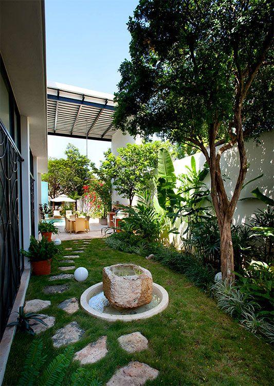 Elegant Gestaltung Kleiner Garten Ideen