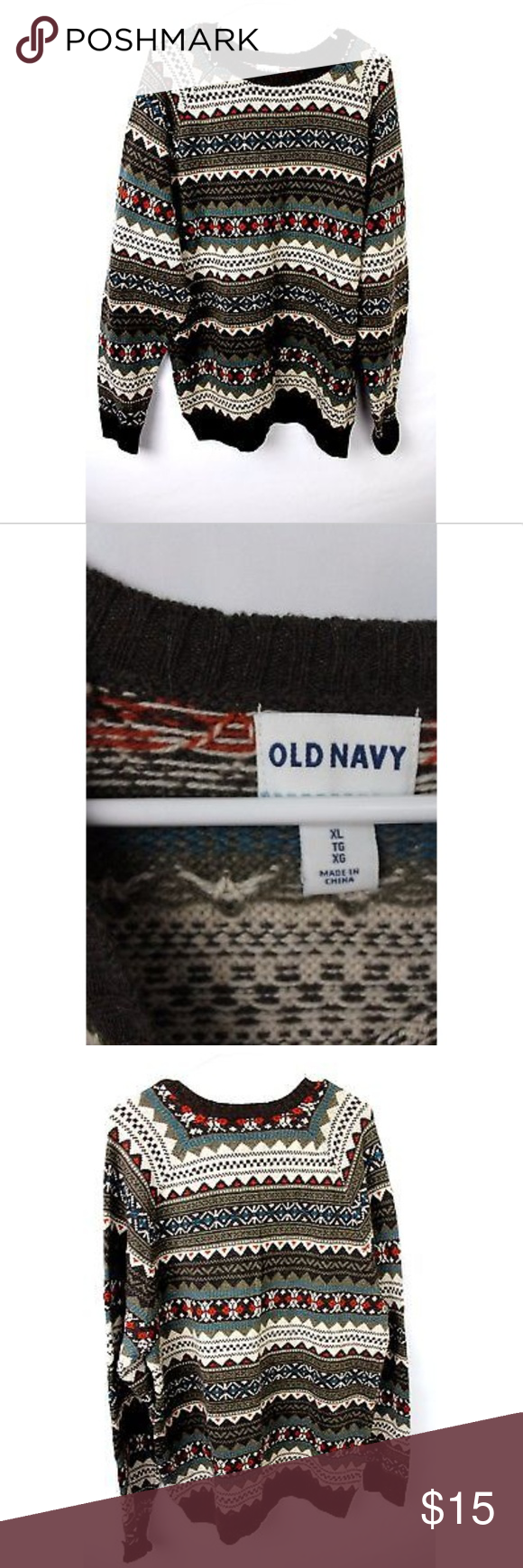 ⛈ Old Navy Men's Ugly Christmas Sweater