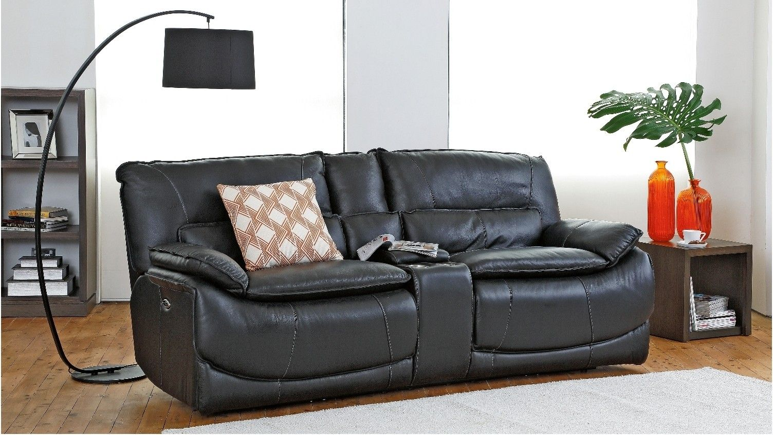 Tex Powered Italian Leather Recliner Sofa | Our new home ...