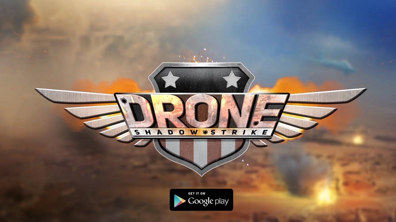 Mobile Game: Drone Shadow Strike | Visual Story ideas | Logos