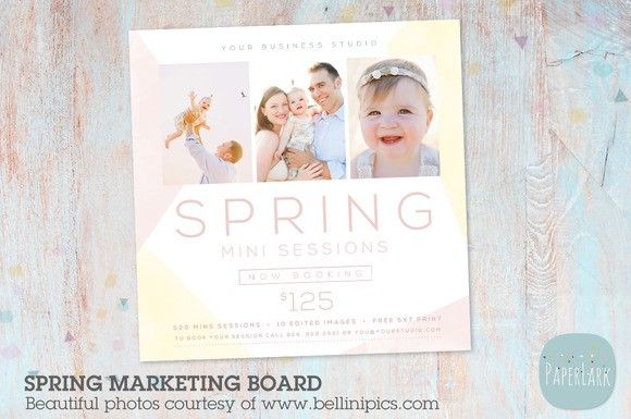 Ie Spring Marketing Board Flyer Templates   Flyer