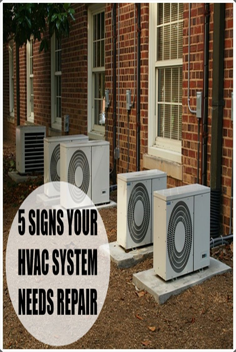 5 Warning Signs Heating And Cooling System Needs Repair