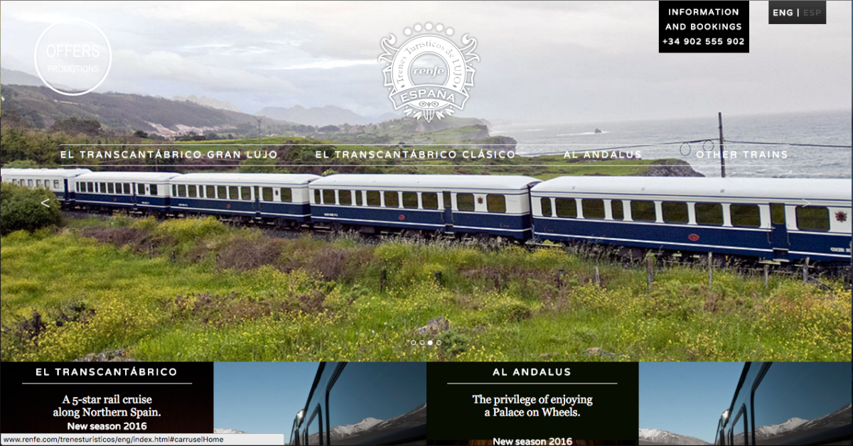 Maybe it's because I create websites, but I love myself a beautiful, well-made website. A lot of the websites related to travel in Spain have not been the most attractive and most of the time…