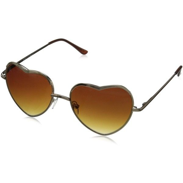 A J Morgan Women S Heart Of Glass Sunglasses 24 Liked On