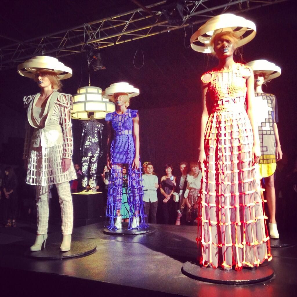 Amazing conceptual installation from @blackcoffeeza #SAFW pic.twitter.com/m3d13HR2Id
