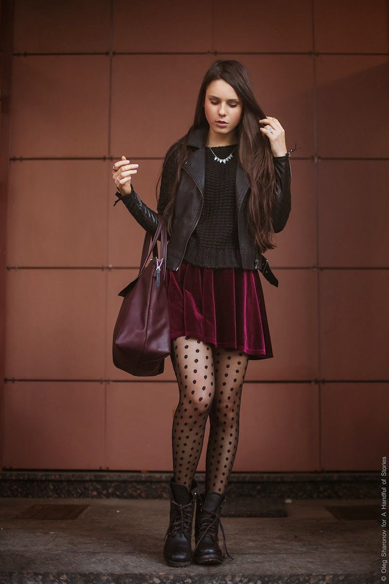 Just Tights Photo Tights Outfit Combat Boot Outfits