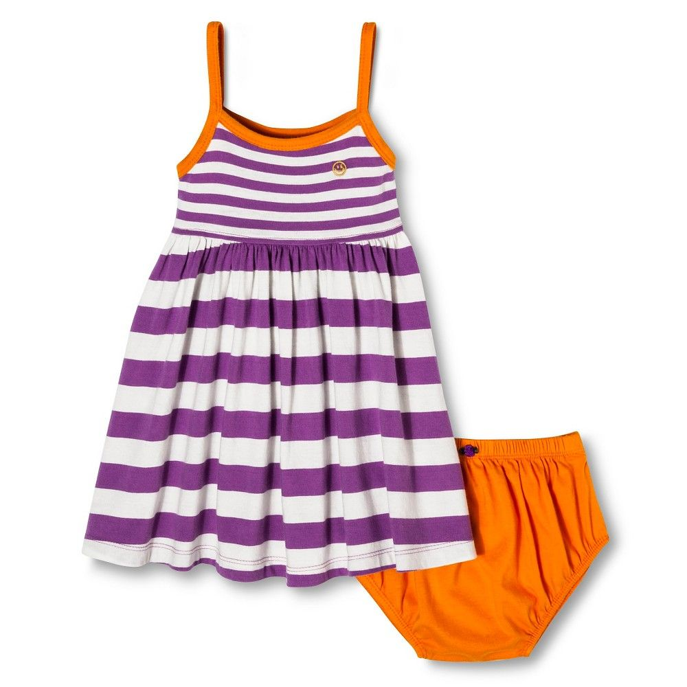 Pink dress baby  Happy by Pink Chicken Baby Girlsu Stripe Knit Dress Set  Violet