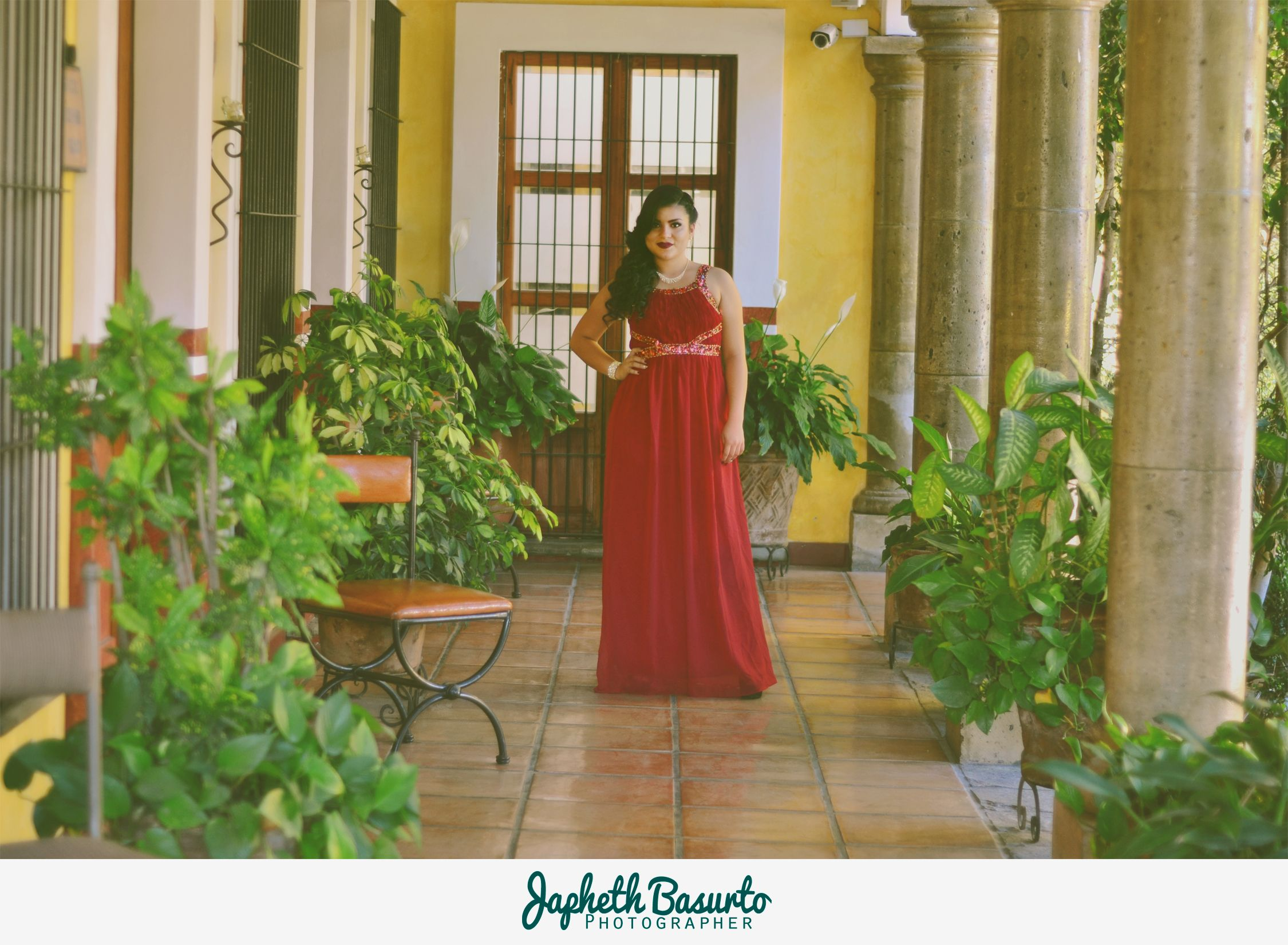 Hotel Casa de los Patios - Sayula, Jalisco #Model #Fashion #GEO #Red #JaphethBasurto #Day #Beautiful
