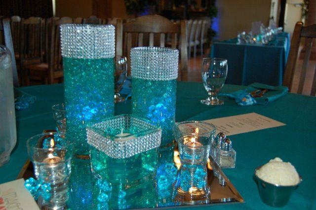 Beach Wedding Centerpieces Google Trsene Turquoise Wedding Decorations Purple Turquoise Wedding Teal Wedding Decorations