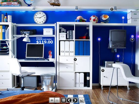 IKEA Young Teenagers Bedroom Design Ideas | IKEA Rooms | Pinterest ...