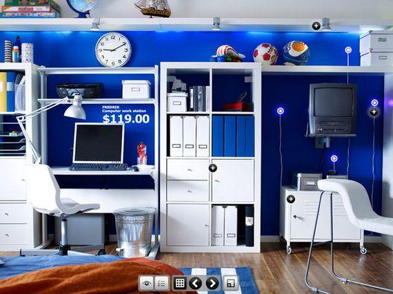 Ikea Young Teenagers Bedroom Design Ideas Cool Dorm Rooms Dorm Room Designs Dorm Room Inspiration