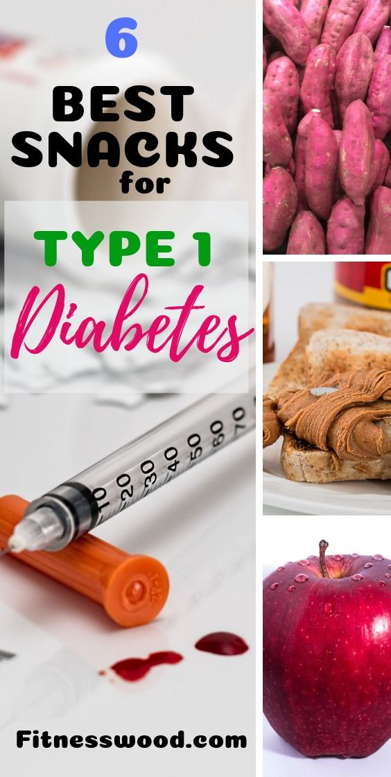 6 Best Snacks for Type 1 Diabetics #type1diabetes