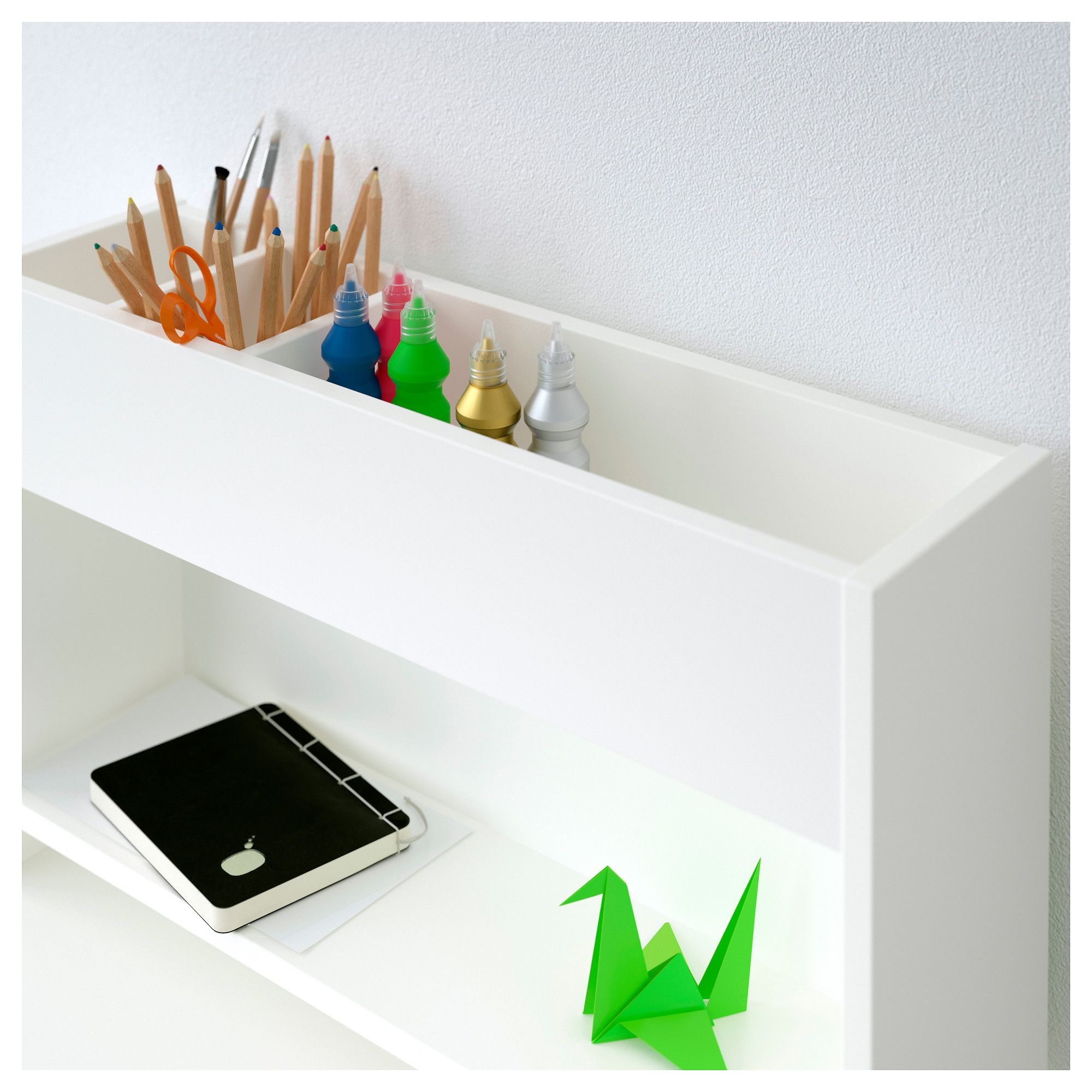 Ikea Usa All Products: IKEA - PÅHL Add-on Unit White, Green In 2019