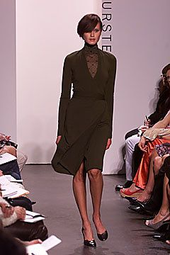 Diane von Furstenberg Fall 2001 Ready-to-Wear Fashion Show - Natalia Semanova, Diane von Furstenberg