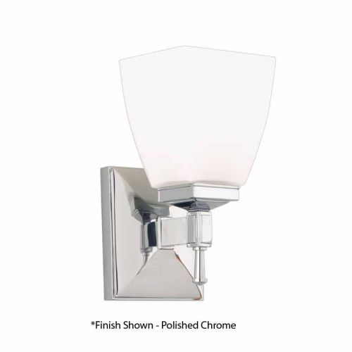 Bathroom Lighting Kent hudson valley kent 1 light bathroom sconce - old bronze 651-ob
