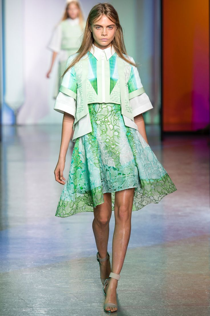 Peter Pilotto Spring 2014 RTW - Target just another there next designer collection with the brand