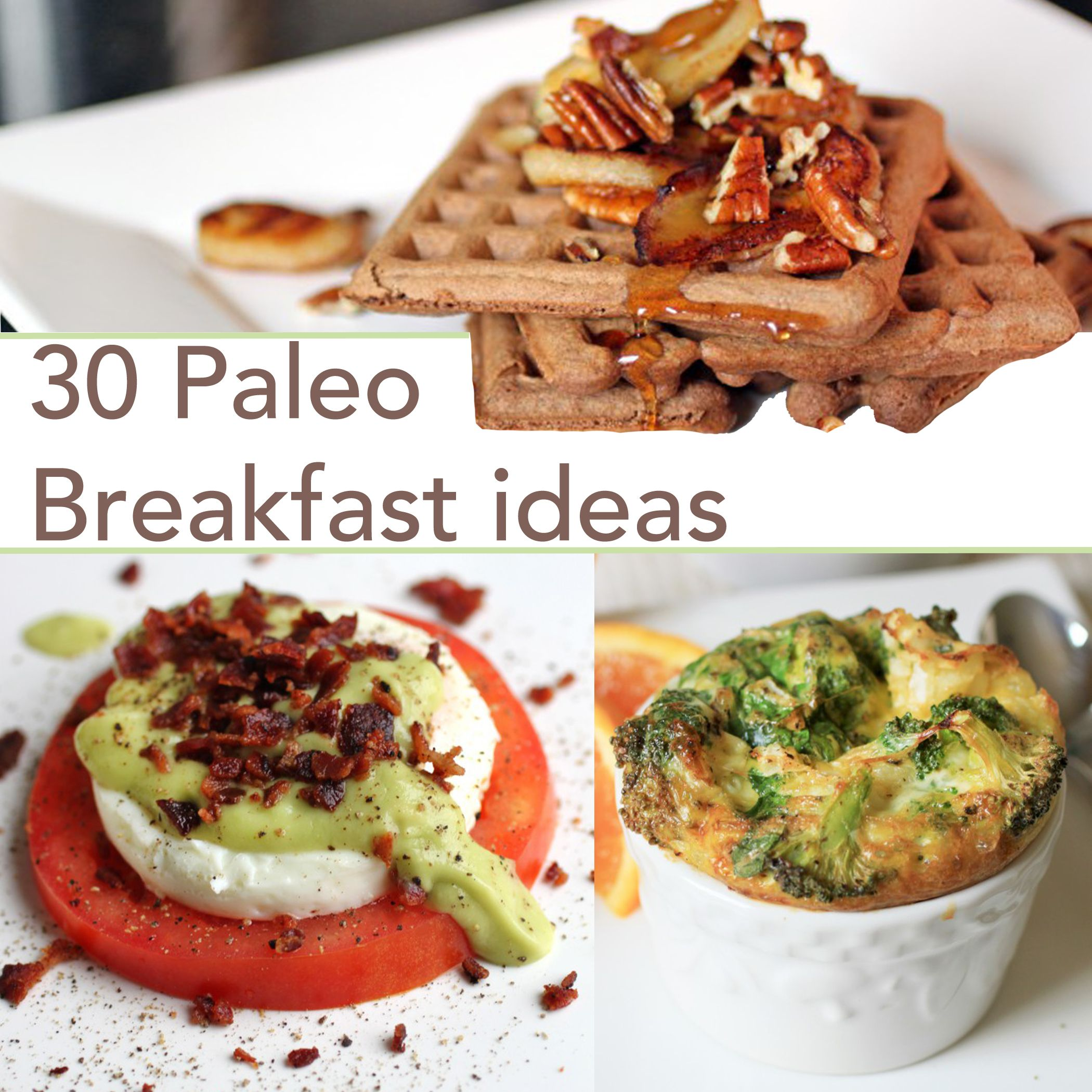 Paleo breakfast recipes paleo pinterest desayuno for Desayunos sin cocinar